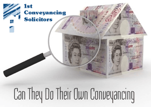 Can they Do Their Own Conveyancing