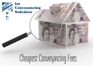 Cheapest Conveyancing Fees