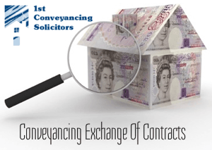 Conveyancing Exchange of Contracts