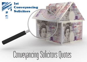 Conveyancing Solicitors Quotes