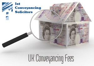 UK Conveyancing Fees