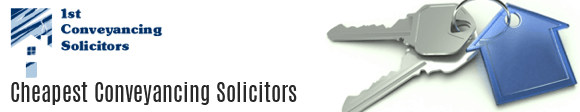 Cheapest Conveyancing Solicitors